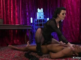 Mistress anal bangs black dude