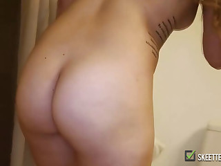 Kind of chubby girl is a wild fuck