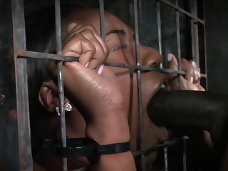 Chanell Heart Gets Caged And Used