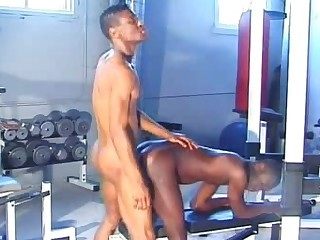 Black Gay Takes It Up The Ass