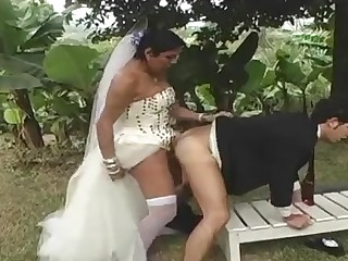 Carol lustful shemale bride