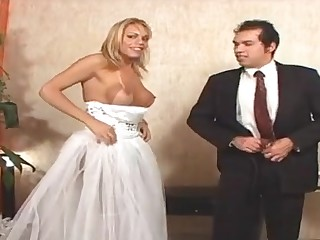 Duda pretty shemale bride