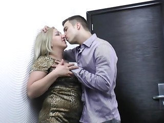This chubby housewife loves a good hard fuck
