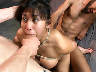 SEXY ASIAN SLUT GETS DICKED DOWN