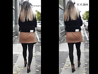 Sexy Candid Office Girl (11.11.2019)