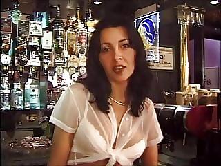 Laura Black Bar Maid