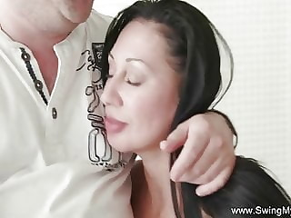 Swing Time For Newly Married Housewife Who Likes Sex