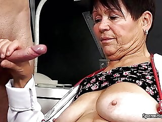 Ugly Woman Handjob