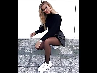 Candid Teens in Nylon Pantyhose they will drive you crazy 6