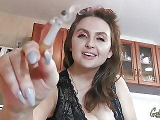 Smoking Goddesses Socks Fetish Feet Sniffing And Facesitting